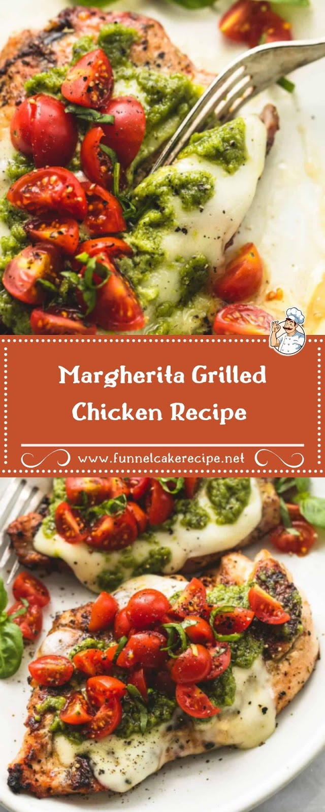 Margherita Grilled Chicken Recipe