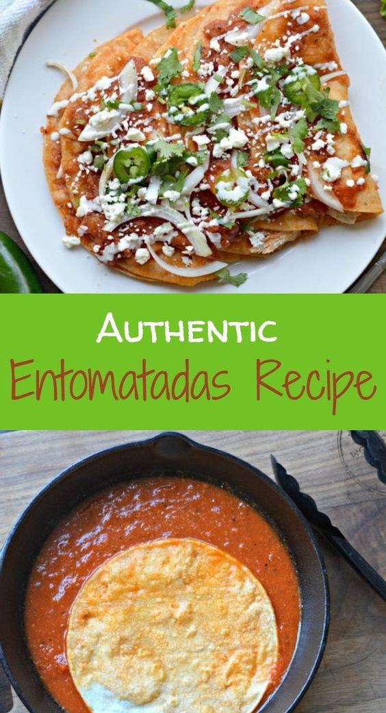 Authentic Entomatadas Recipe