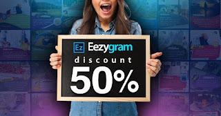 eezygram diskon 50%