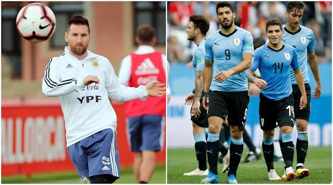 مشاهدة مباراة الأرجنتين و أوروجواي بث مباشر
