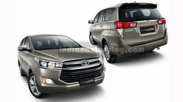 Toyota Innova 2016 tung ảnh nóng