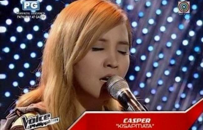 Casper Blancaflor Sings 'Kisapmata' on The Voice of the Philippines Season 2 Blind Audition