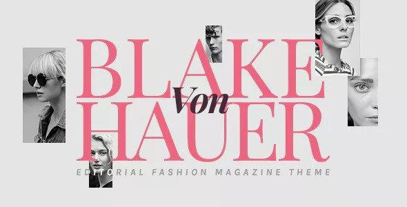 Blake von Hauer v4.1 - Chủ đề Tạp chí Thời trang