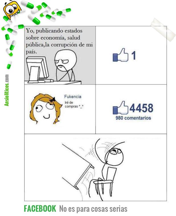 Chiste de Facebook: Su profundidad