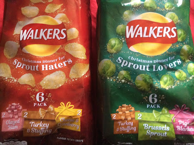 Walkers 2018 Christmas Crisps Multipacks