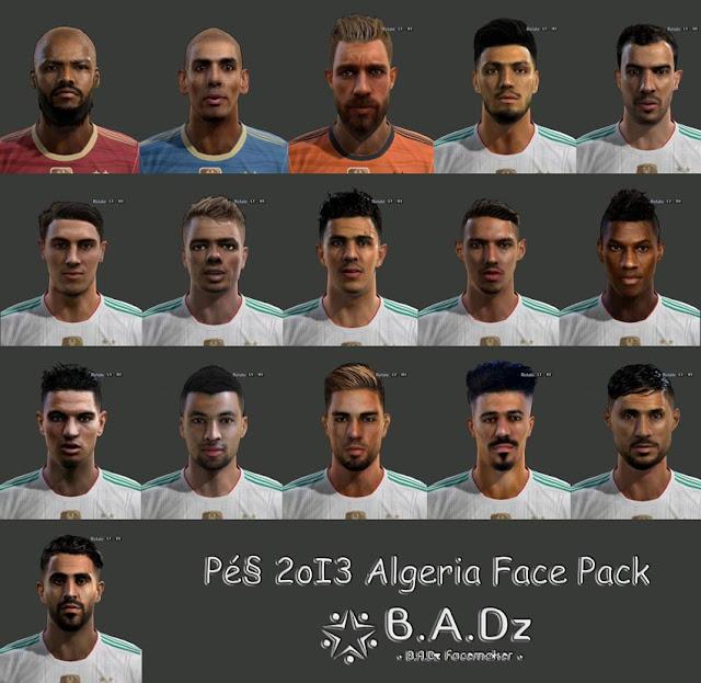 PES 2013 Algeria Facepack 2020