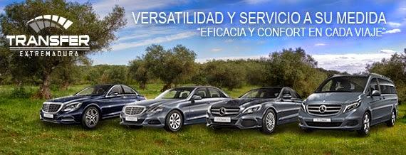 Flota de coches de alquiler con conductor en Badajoz, Extremadura
