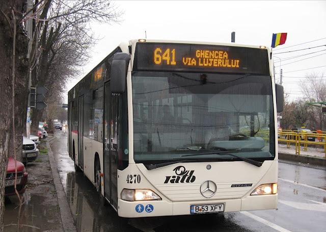 autobuz 641 - info drumul taberei