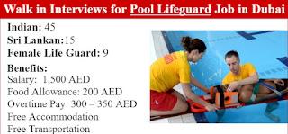 Pool Lifeguard Jobs Vacancy in Dubai   Walk In Interview