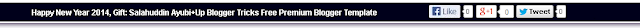 Releasing Blogger Notification Bar, Add Blogger Sticky Header Bar In Your Blogger Blogs Free With Shadow Effect