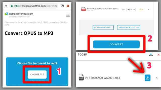 cara mengubah voice notes jadi musik mp3
