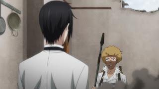 Hellominju.com: 黒執事 ファントムハイヴ家の使用人紹介 | バルドロイ (CV: 東地宏樹) | Black Butler Phantomhive household | Baldroy | Hello Anime !