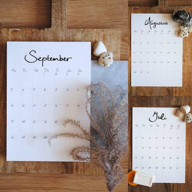 gratis kalender 2017 dutch design on a budget
