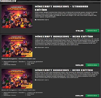 Minecraft Dungeons Nedir? Kaç TL? Online mı ?