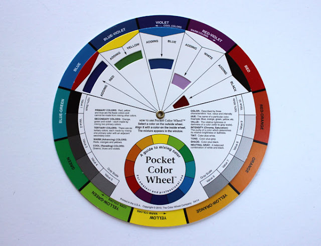 traditional color wheel tool