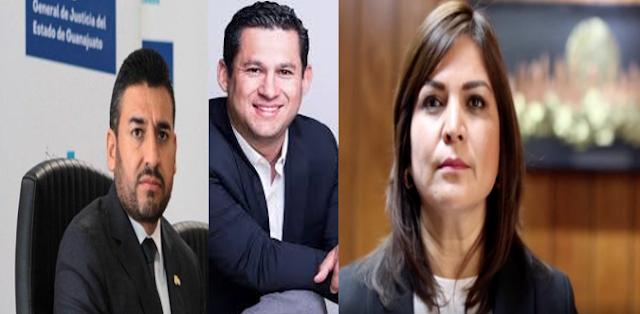 Grupo Elite del CJNG envía amenaza al Gobernador de Guanajuato, su Fiscal y la Presidente Municipal de Celaya