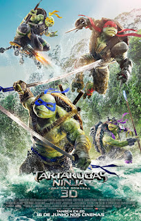 Assistir As Tartarugas Ninja: Fora das Sombras Dublado Online HD
