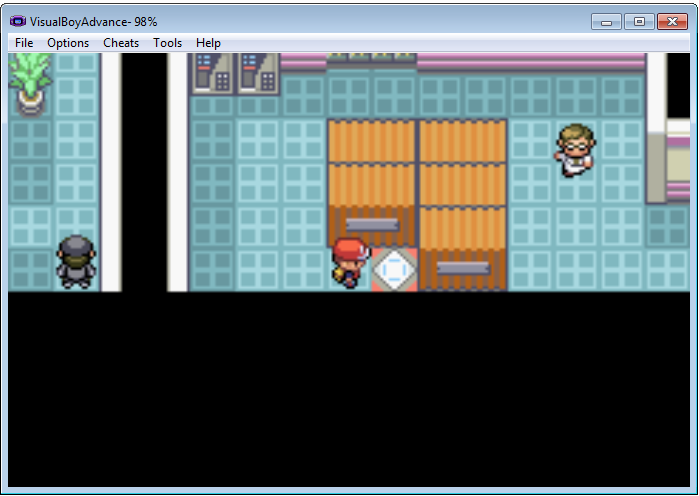 pokemon fire red how to get card key silph co