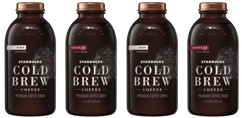 Starbucks Vanilla Fig Cold Brew Coffee Bottles Coming
