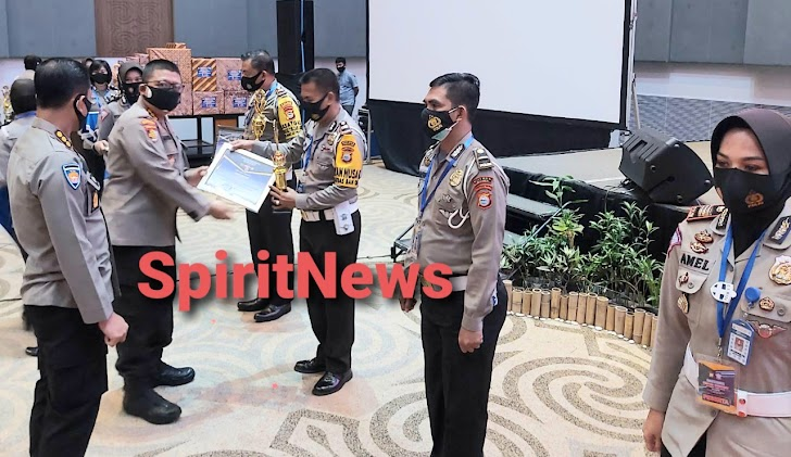 SpiritNews Ucapkan Selamat, Satuan Lalulintas Polres Takalar Raih Peringkat Kedua Pengimputan Data IRSMS