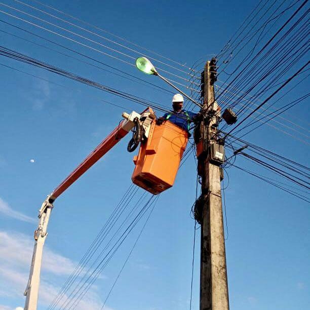 Secretaria de Serviços Públicos inicia mutirão para manutenção da iluminação pública de toda a cidade