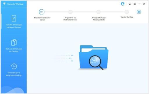 صفحة تقدم iTransor