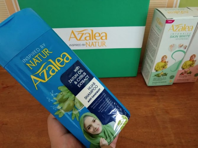 Review Azalea  Hijab Shampoo dan Intensive Skin White