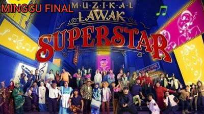 Live Streaming Muzikal Lawak Superstar 2019 Minggu 10 (Final)