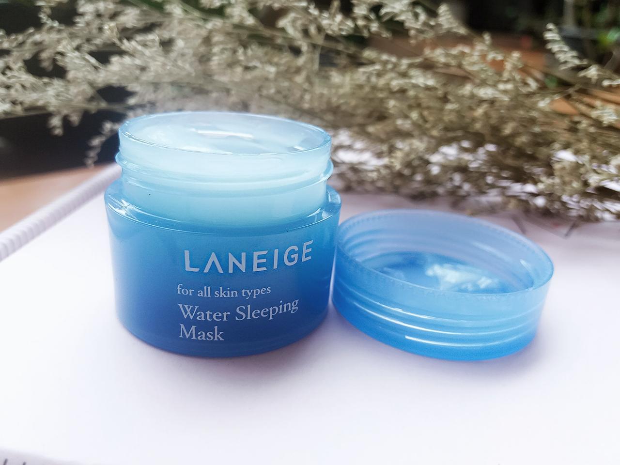 Review Laneige Water Sleeping Mask Travel Size Flawless Chen Lip Untuk Itu Hari Ini Aku Mau Sharing Tentang Yang Jadi Favoriteku Belakangan Its The Famous