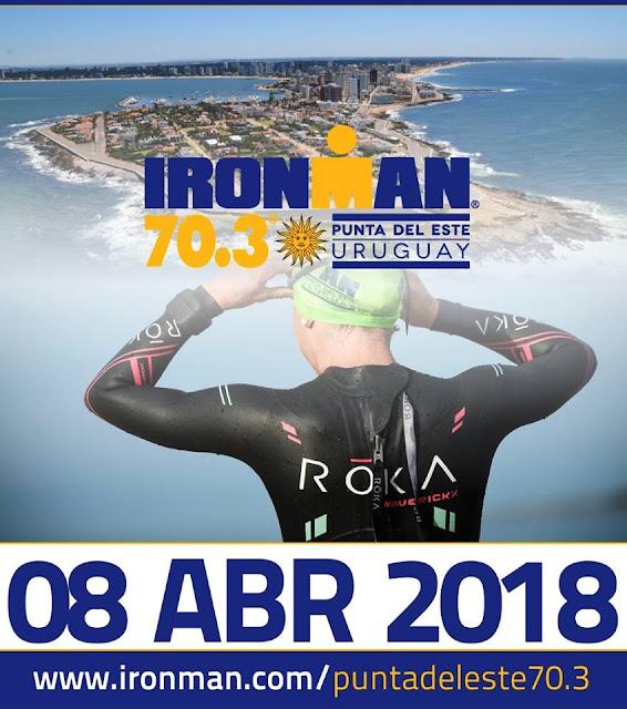 Ironman 70.3 Punta del Este será en abril (Uruguay 08/abr/2018)