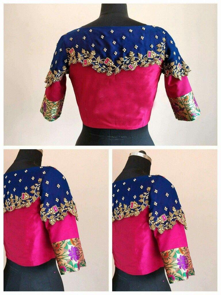 88c79d6b2c84d 10 Beautiful Blouse Sleeve Designs For 2019