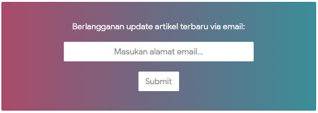 Cara Memasang Kotak Berlangganan (Subscriber Box) Seperti Viomagz