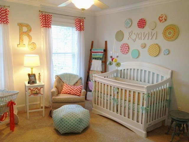 paint color ideas for baby girl nursery