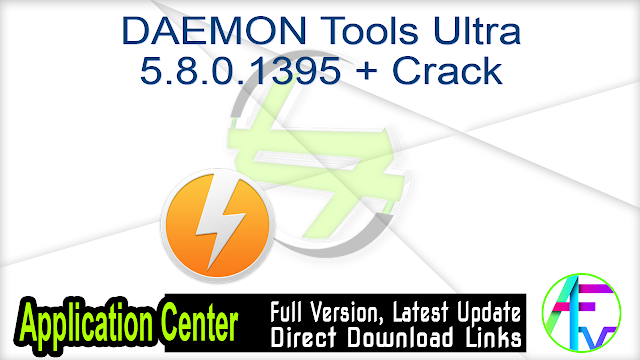 DAEMON Tools Ultra 5.4.0.894 + Patch
