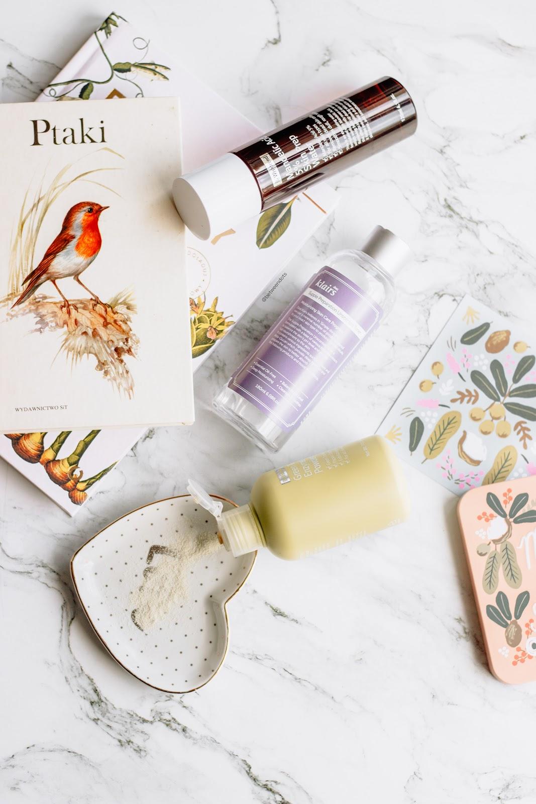 Wishtrend Cruelty Free Brand Week By Wishtrend Green Tea & Enzyme Powder Wash By Wishtrend Mandelic Acid 5% Prep Water Klairs Supple Preparation Unscented Toner  Kbeauty Asian Beauty Korean Skincare