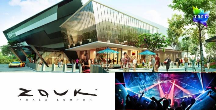 new Zouk Kuala Lumpur at TREC
