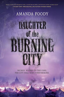 Daughter of the Burning City book cover