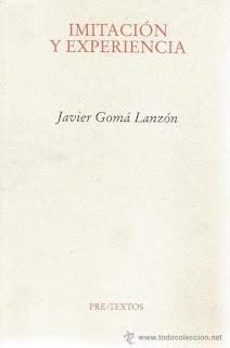 """""""Imitación y experiencia"""" - Javier Gomá"""