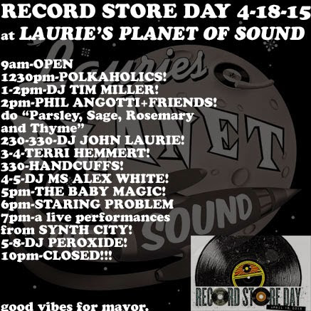 Record Store Day: Leftovers List!