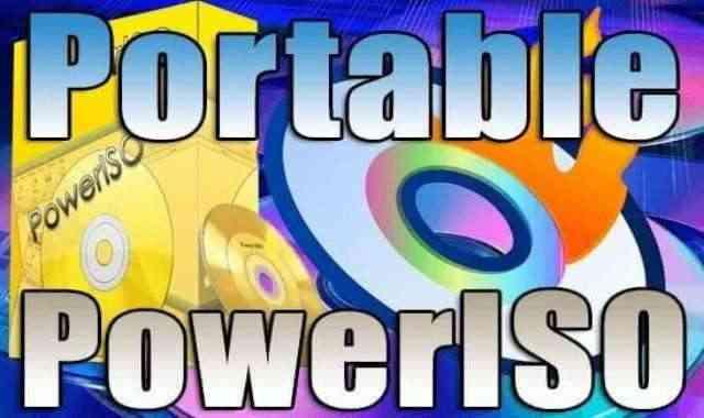 تحميل برنامج حرق الاسطوانات PowerISO Portable اخر اصدار نسخة محمولة مفعلة