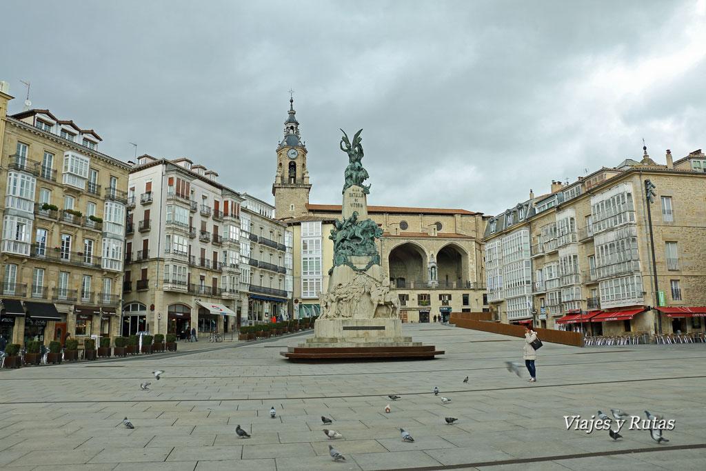 Plaza de la Virgen Blanca, Vitoria