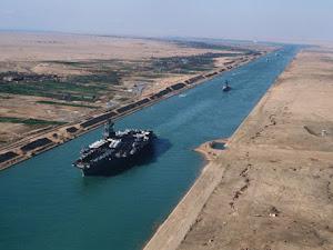 Hito N° 2 de la Ingenieria Civil: El canal de Suez