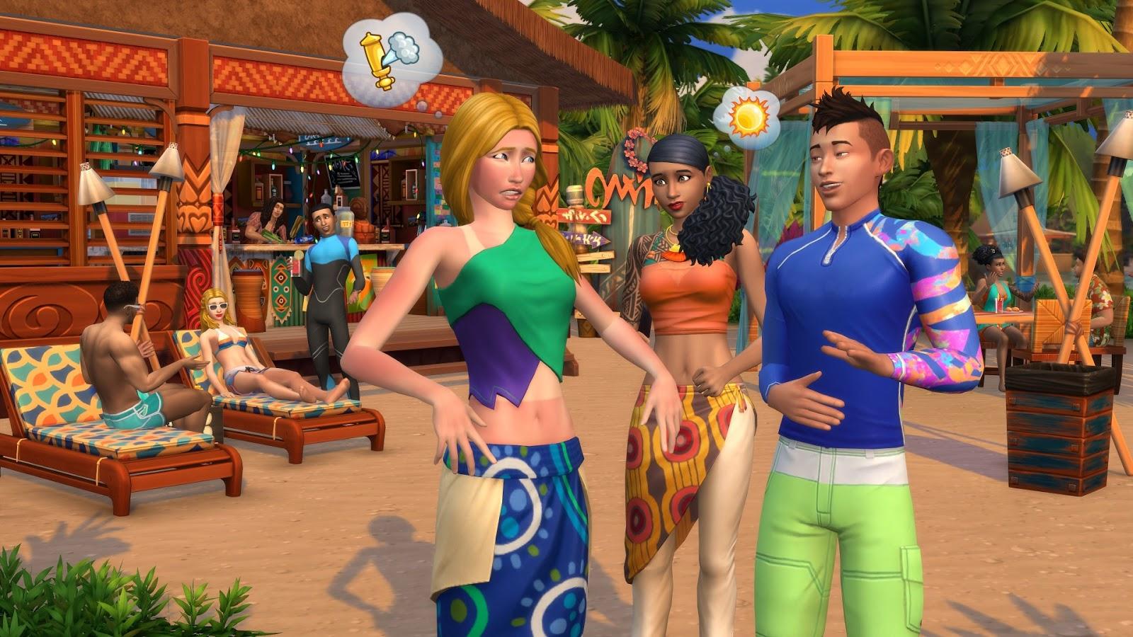 Los Sims 4 Vida Isleña PC ESPAÑOL (CODEX) 4