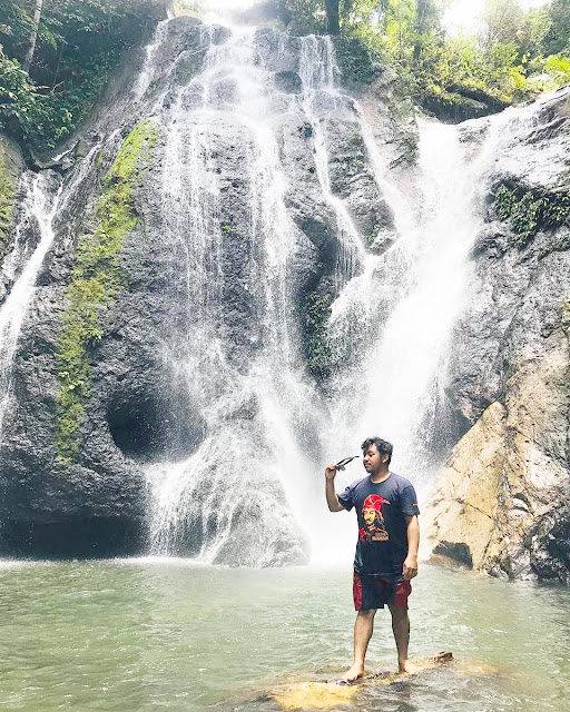 limbong kamandang waterfall west sulawesi