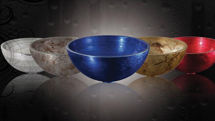 Lavabos de cristal pintura y decoraci n manuel montejo for Lavabos de cristal
