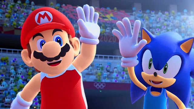 MARIO AND SONIC TEAM UP FOR A SPECTACULAR PARTY TODAY!