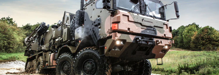 Німецька армія замовила Rheinmetall 1000 вантажівок
