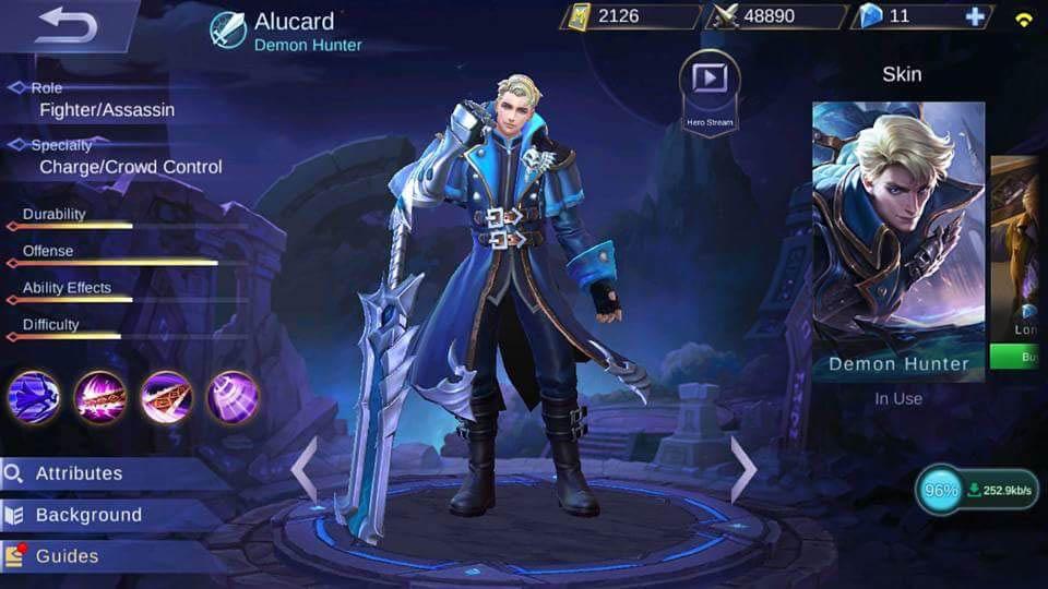 Alucard cara mudha mendapatkan Savage dan penta Kill mudah