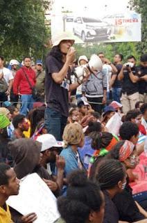 Lindungi Warga Papua Warga Bandung Tolak Provokator Aksi Demo