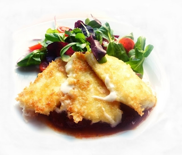 panko crusted mozzarella cheese